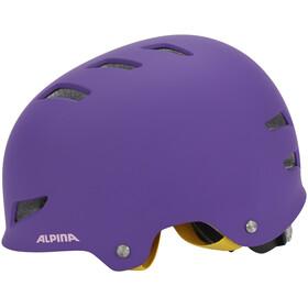 Alpina Park Jr. Helmet purple